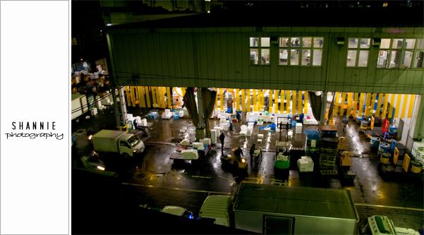 Tsukiji Fish Market 築地市場