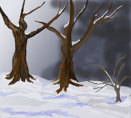 Dancing Trees, 2nd version