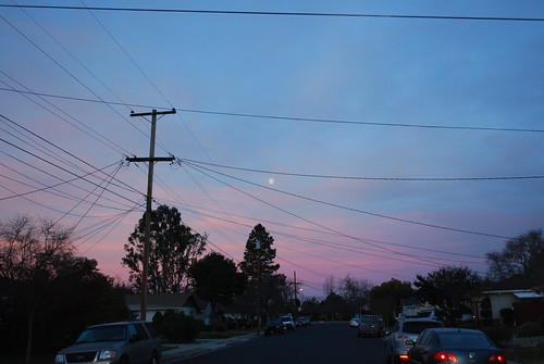 Moonset at Sunrise