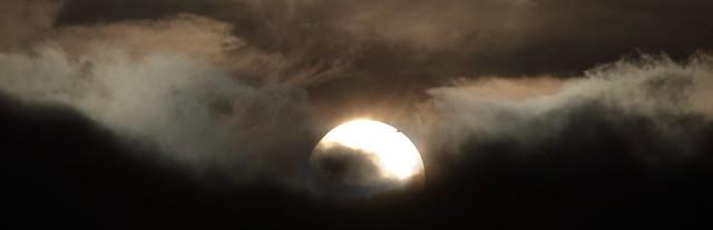 Venus Transit, 6/6/12, 04:47AM Welsh Highlands, Foxhunters Grave.