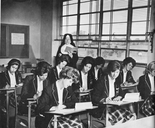 Sr. Mary Veronica, CSJ St. Joseph Academy MO 1960's