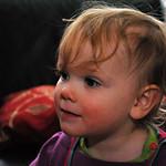 Watching the Tv Bobbie
