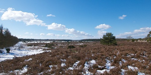 Across the heath to Rørbæk Sø