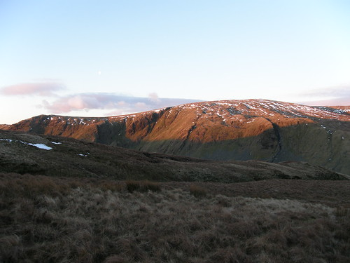 Early Sun on Kentmere Pike