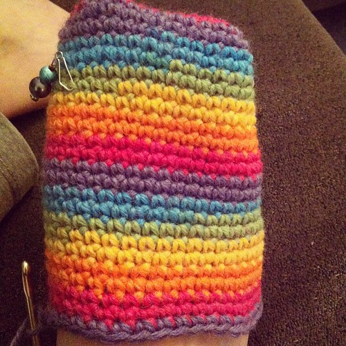 #rainbow #crochet #socks