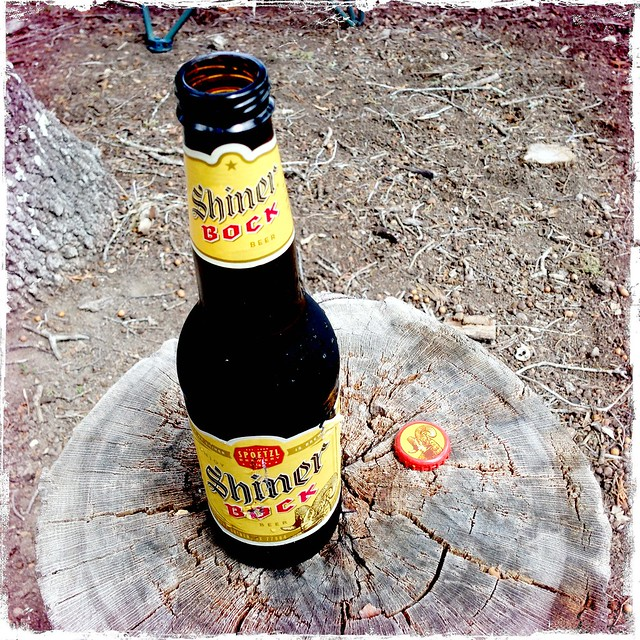 Shiner Bock in Lower Yurtistan