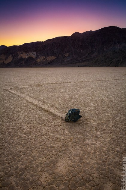 The Racetrack death valley