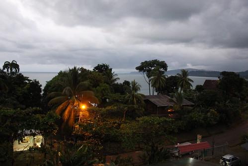 Las «vistas al mar» de Cabinas Murillo.