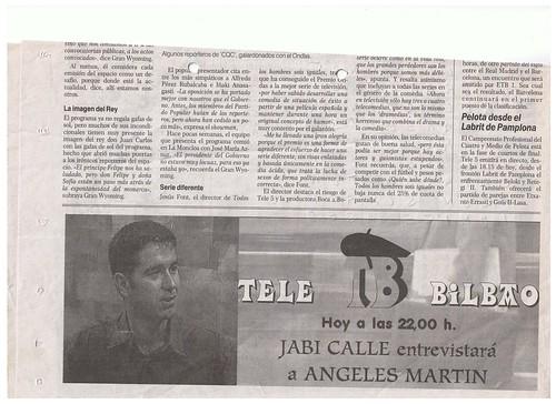 Anuncio Diario El Correo 1 Noviembre de 1997 by LaVisitaComunicacion