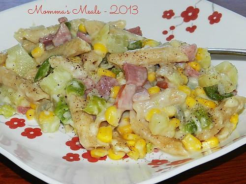 Corn Chowder Mac N Cheese (6)