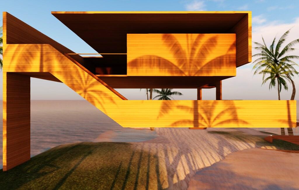 Wood Hut by Sergio Botha