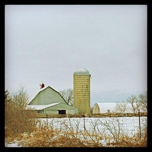 Mar 22 - 'S' {silo} #photoaday #princeedwardcounty #barns #silo