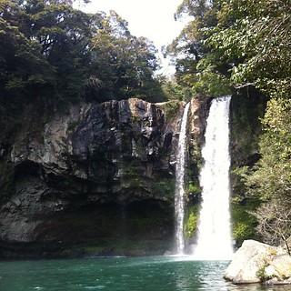 Cheongiyeon waterfall @ Jeju