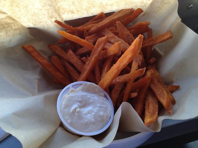 Sweet potato fries - Lookout