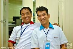 PWD Staff Lorben Carpo & Gregorio dela Osa
