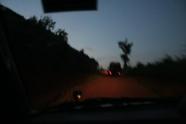 sunrise car ride 9