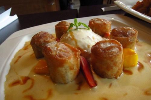 spring roll dessert