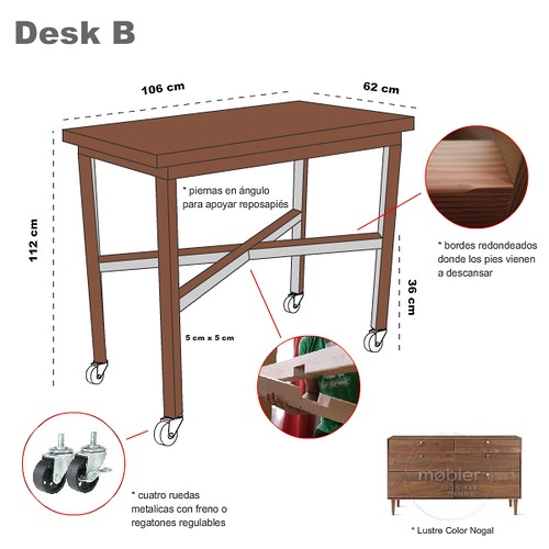 StandUp Desk Design B