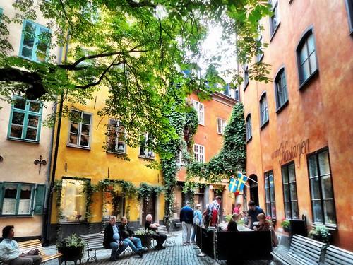 Gamla Stan, Stockholm, Sweden 2012 by SpatzMe