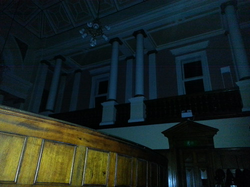 Ghost Hunt at Galleries of Justice - Courtroom Balcony