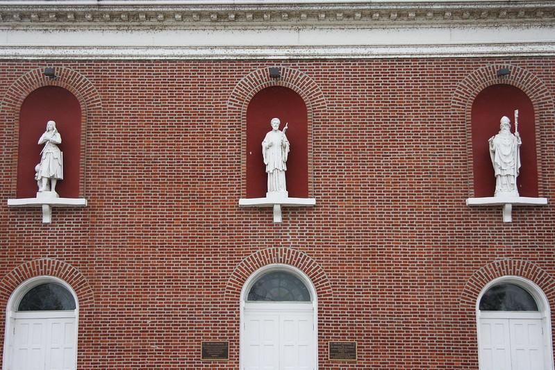 Exterior Statues