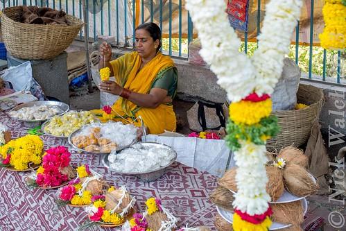 The Streets of Pune 2013 - Flower Seller