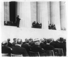 Dr. Moton Speaks at Lincoln Memorial Dedication: 1922