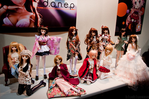 Dollfie Dream gathering by Danep forum at the Shadonia booth during Made in Asia 5