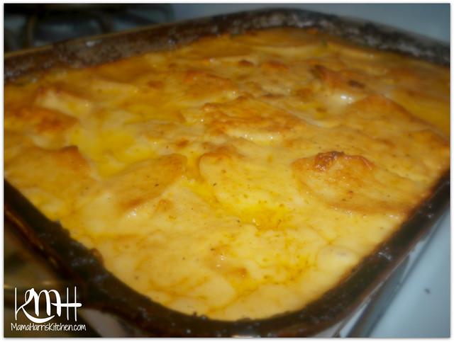 kitchen.com play kitchen island cheesy au gratin potatoes | mama harris'