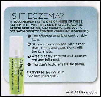 FixMySkin Balms, developed by Dr. Joel Schlessinger, spotlighted in Essence magazine
