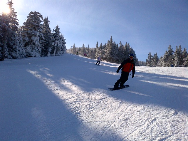 Snowboarding Killington