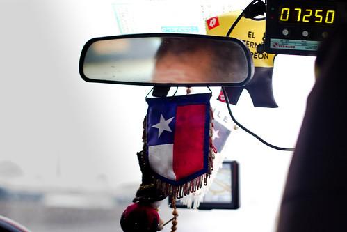 Taxi en Santiago
