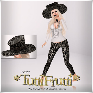 TuttiFrutti - Yeah Hat & Jeans - My Attic @ The Deck