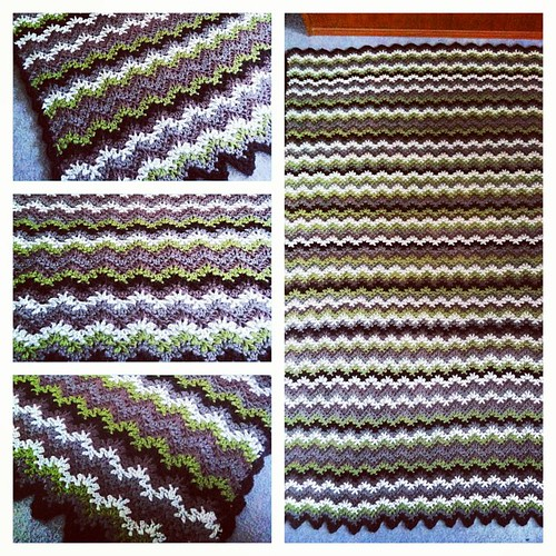 Another #crochet #blanket #finished