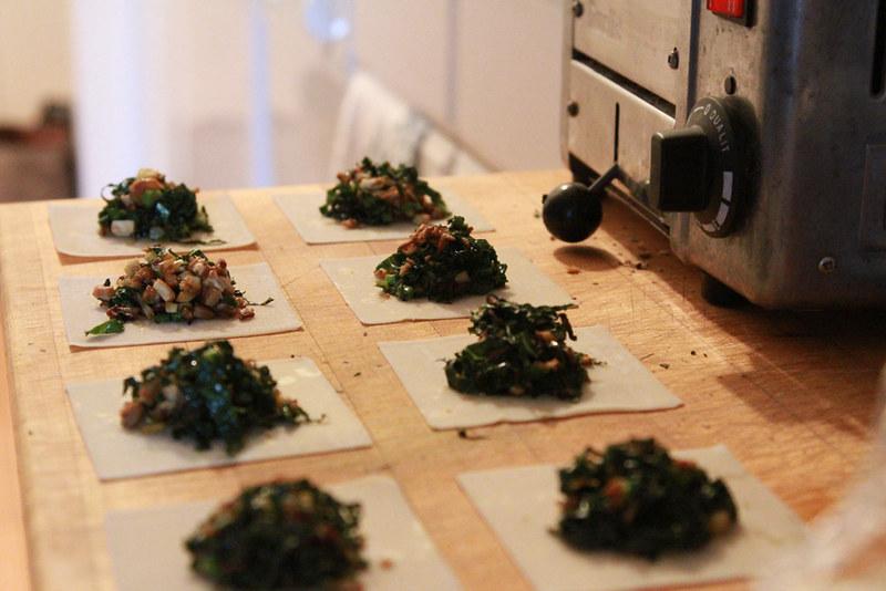 dumplings, prepared