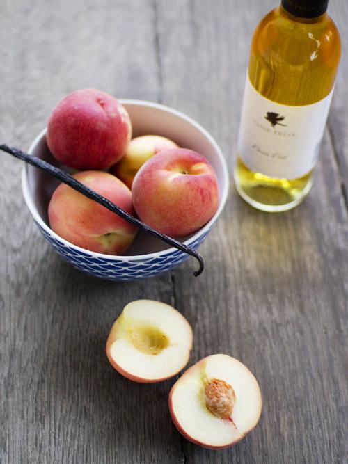 making semillon vanilla peaches