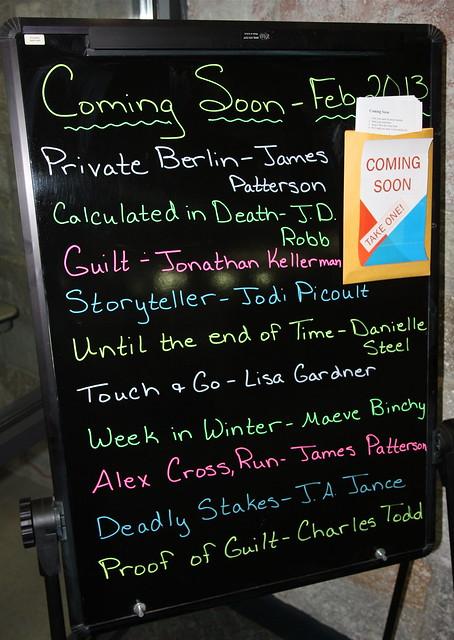 Coming Soon - Feb. 2013