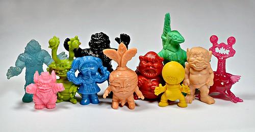 Random group of mini figures