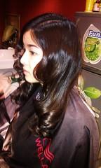 Kiểu tóc dài uốn xoăn Retro đi dự tiệc Hair salon Korigami 0915804875 (www.korigami (2)