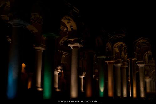 Multicolor Pillars