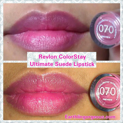 Revlon ColorStay Ultimate Suede Lipstick  in Preview 070