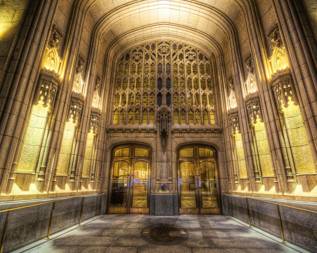Neo-Gothic Entrance