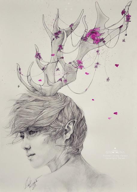 Portrait of the Forest (Luhan fanart)