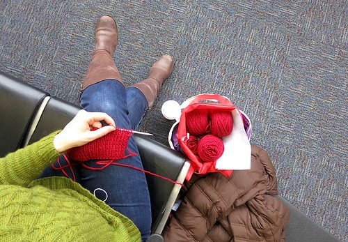 Feb19-AirportKnitting
