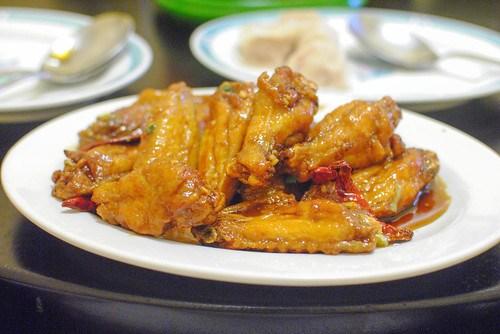 dry fried chicken