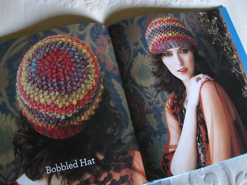 Crochet Noro - Bobbled hat