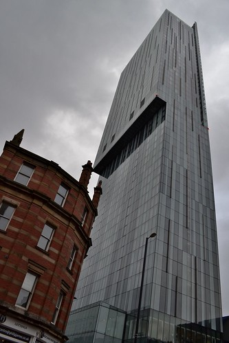 Beetham Tower meets .... by Angela Seager