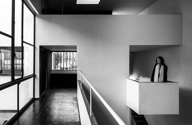 Modernist Architecture Observing Le Corbusier