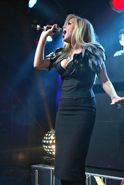 Beata singing
