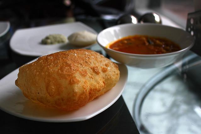 Chole and batura - delicious!!!